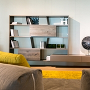 Offerta speciale mobile soggiorno componibile scontato del for Parete attrezzata presotto