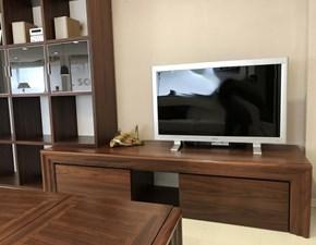 Parete attrezzata in stile design Colombo in legno Offerta Outlet