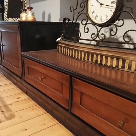 parete attrezzata provenzale bicolore : Parete attrezzata LE FABLIER collezione MOSAICO in legno massello ...