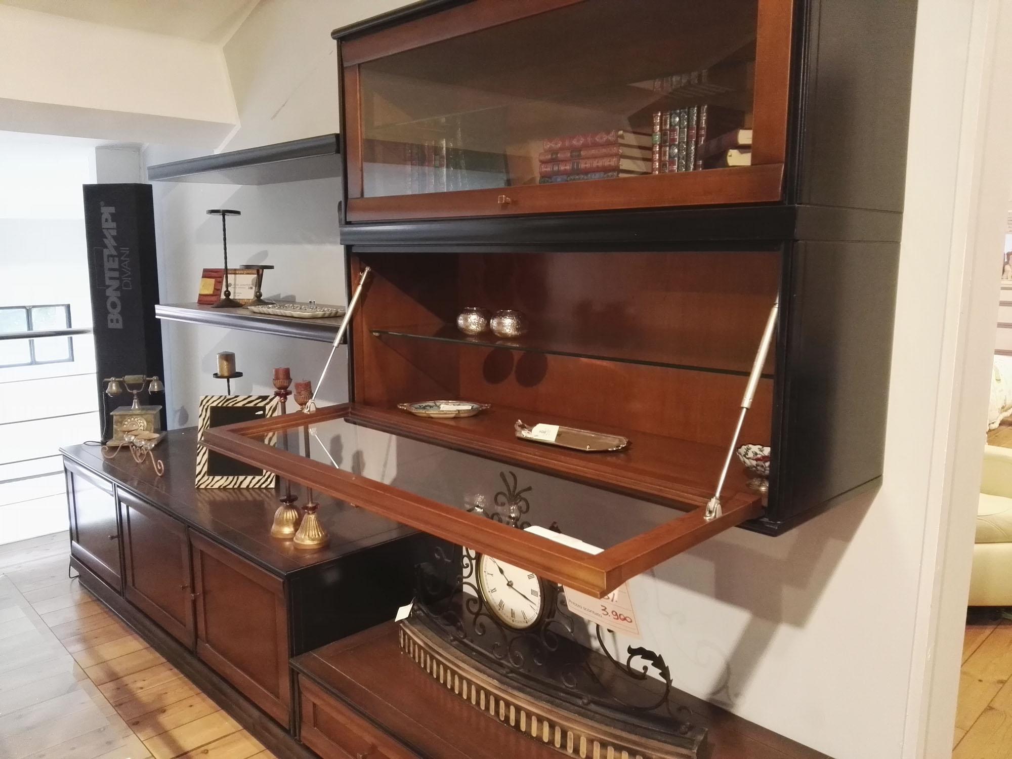 Parete attrezzata LE FABLIER collezione MOSAICO in legno massello ...