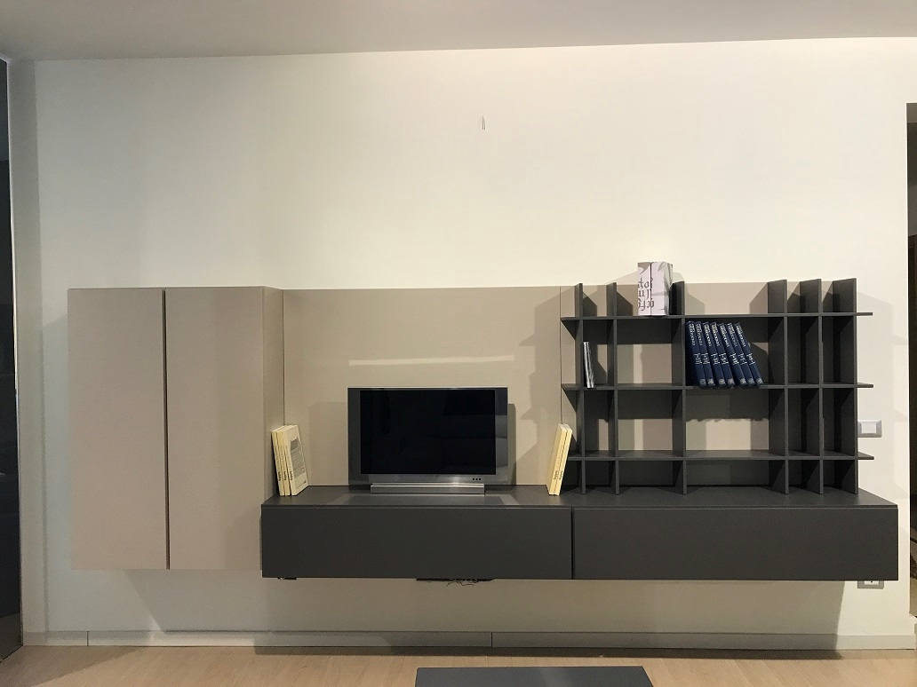 Parete attrezzata moderna concept doimo design in offerta for Parete attrezzata moderna outlet