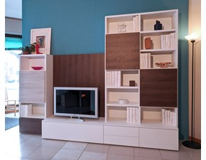 Parete attrezzata Novamobili Living-system SCONTO IMPERDIBILE