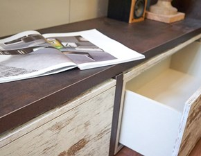 Parete attrezzata Nuovi Mondi Cucine in legno a prezzo Outlet