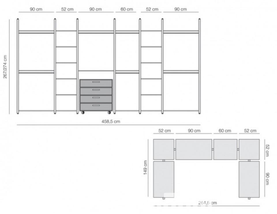 Armadio Angolare Cartongesso ~ Ispirazione design casa