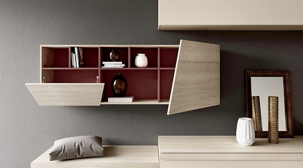 Parete attrezzata per soggiorno cool parete attrezzata for Parete attrezzata per soggiorno