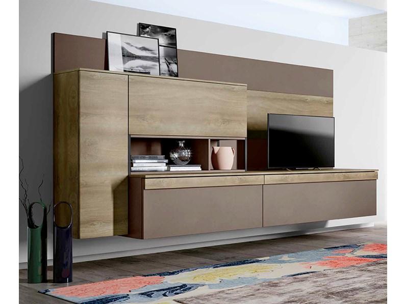 Best pareti per soggiorno contemporary idee arredamento for Parete attrezzata moderna sospesa