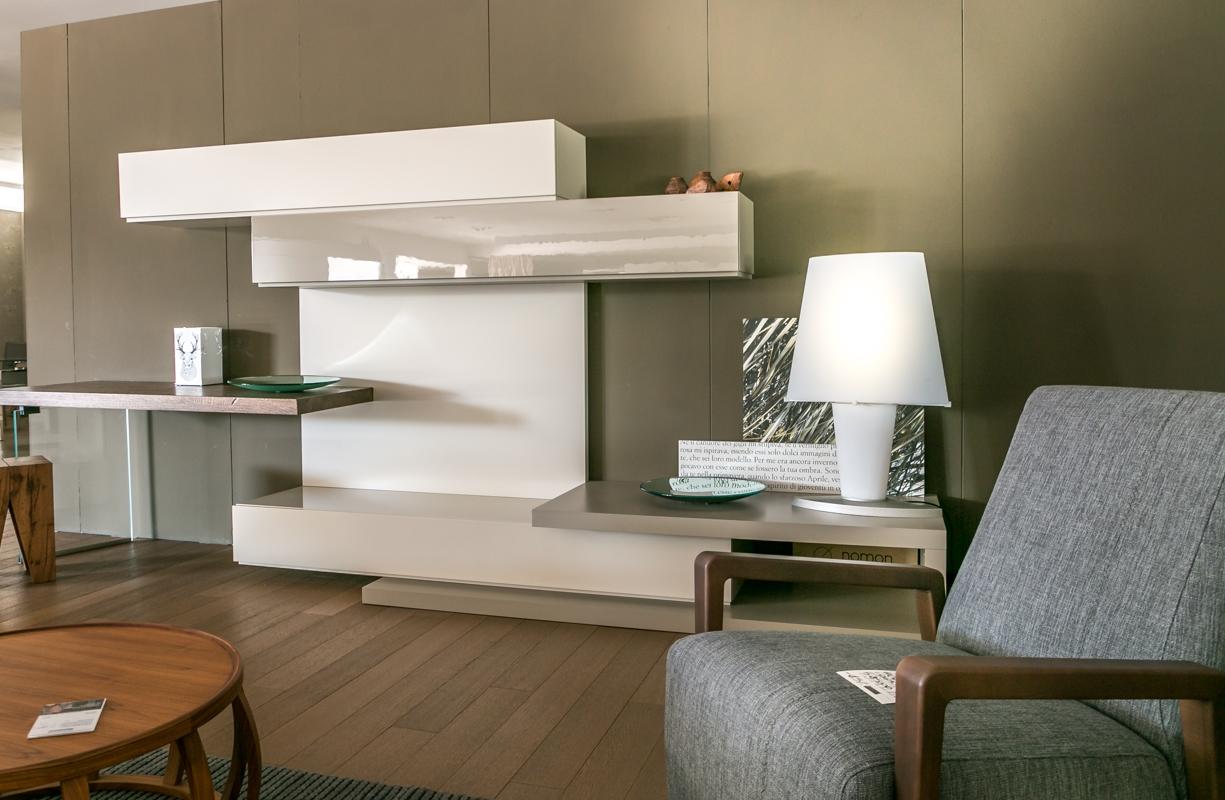 Pareti Attrezzate Moderne In Legno Massello ~ Trova le Migliori idee per Mobili e Interni di Design