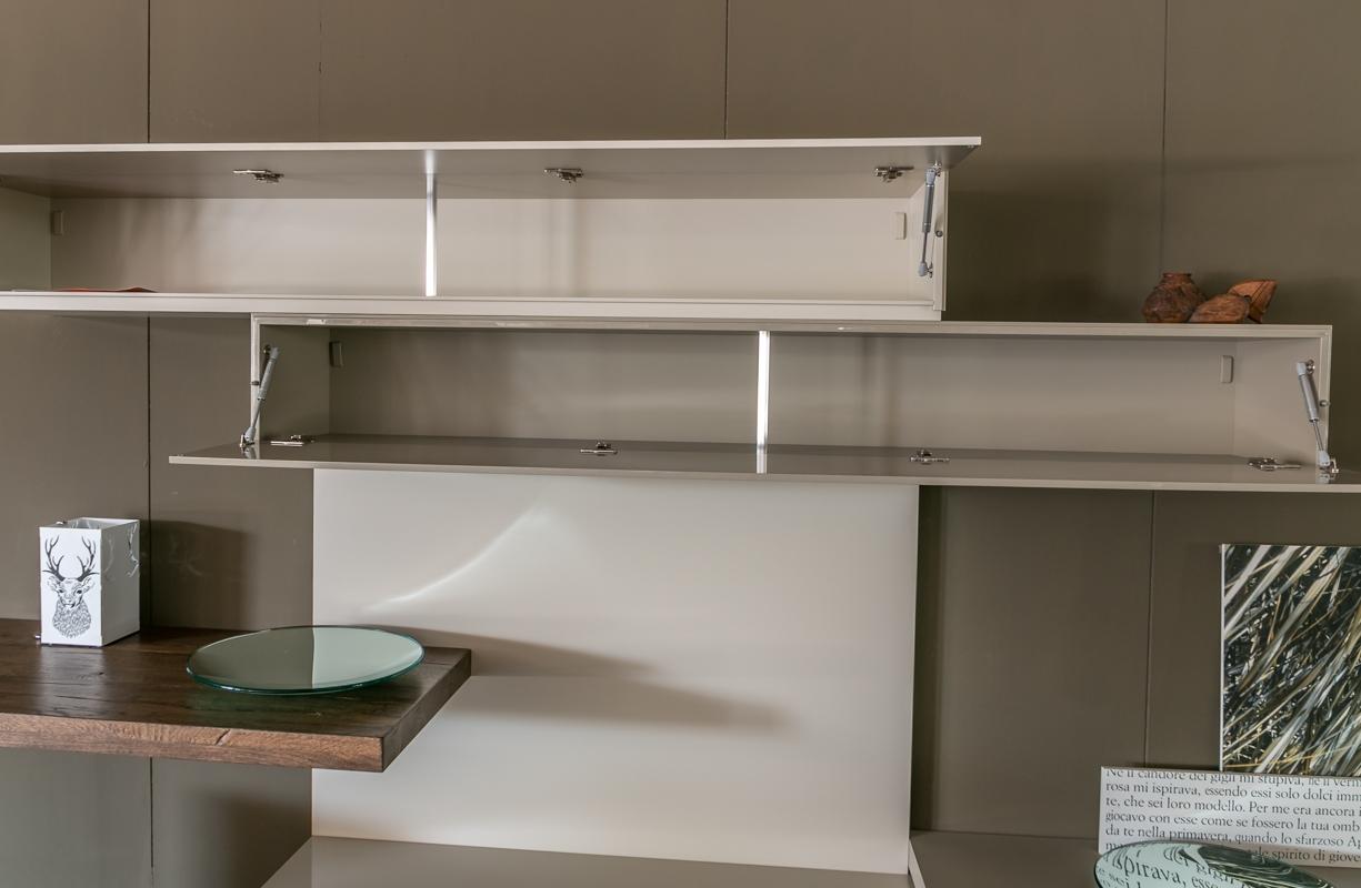 Scrittoio moderno per soggiorno kevin scrivania con libreria per ragazzi design moderno x cm - Scrittoio moderno design ...
