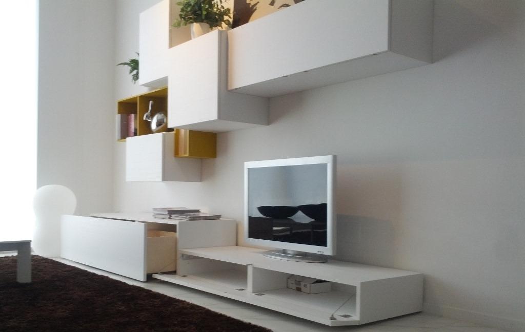 soggiorno orme parete attrezzata - soggiorni a prezzi scontati - Parete Soggiorno Attrezzata Offerte