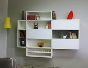 Parete attrezzata Project Zalf in stile design a prezzo scontato