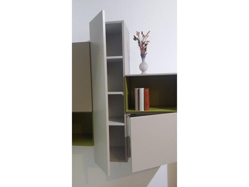 Parete attrezzata soggiorno moderna scontata del 30 - Soggiorno parete attrezzata moderna ...