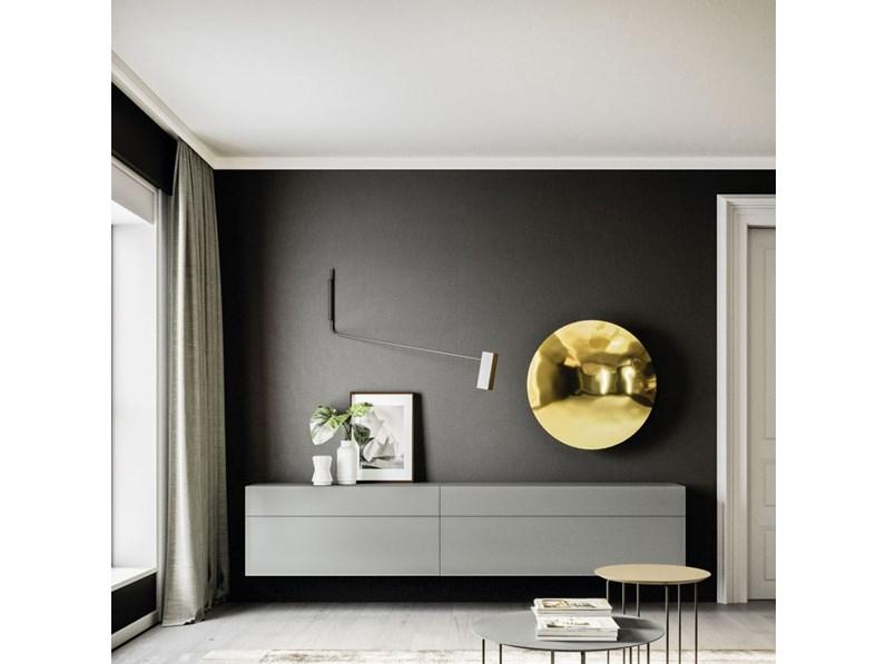 Parete attrezzata yad 26 orme in stile design a prezzo for Design scontato