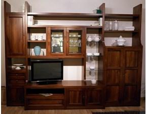 Librerie Di Legno Classiche.Outlet Soggiorni Librerie Sconti Fino Al 70