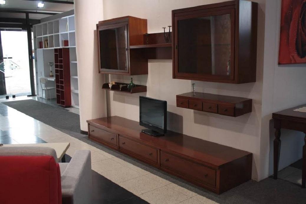 Parete Soggiorno Prezzi : Parete soggiorno classica in legno scontata del