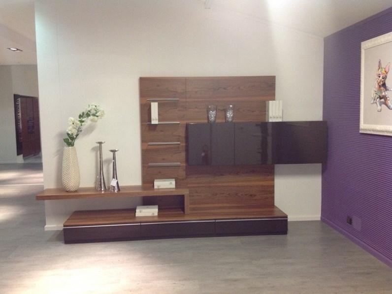 Parete soggiorno in offerta 12546 for Offerta mobili