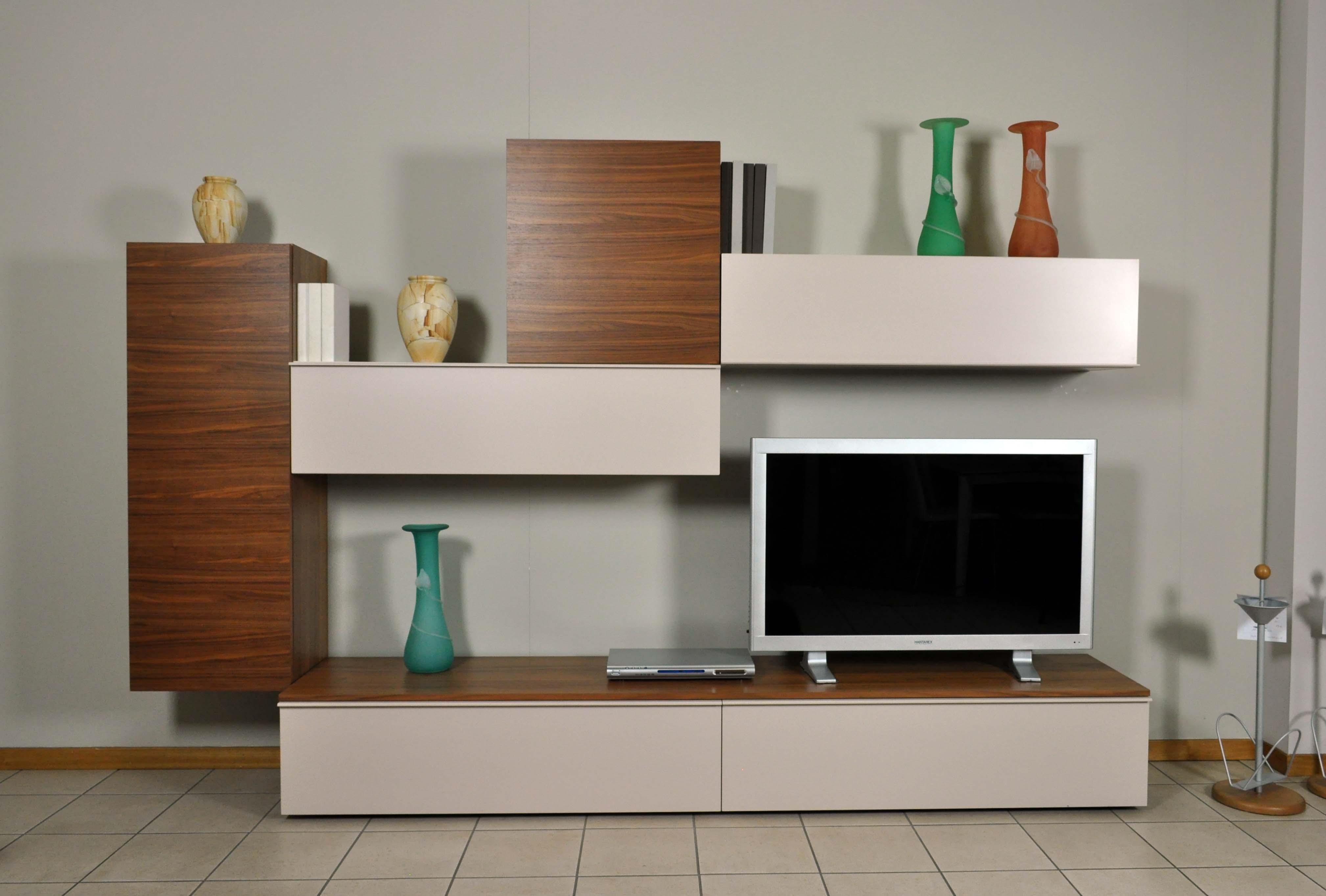 Parete soggiorno napol vero legno in offerta prezzo outlet - Lacedelli mobili outlet ...