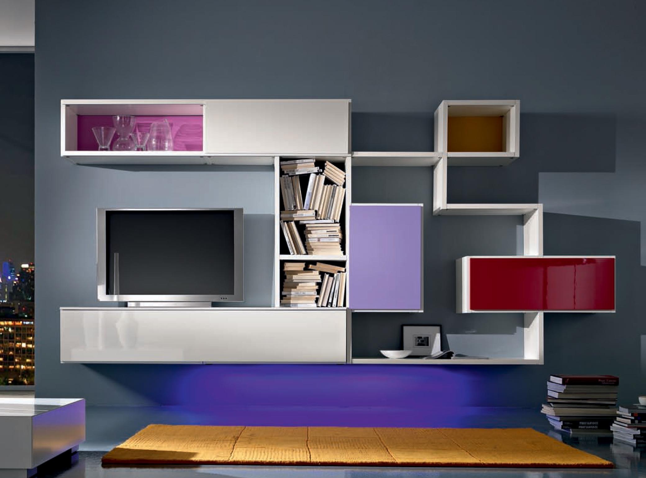 Parete tv sospesa personal scontata soggiorni a prezzi scontati - Montaggio tv a parete ...