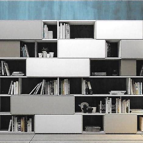 pareti attrezzate 2 moderne scontata del 24% - soggiorni a prezzi ... - Soggiorno Pareti Attrezzate 2