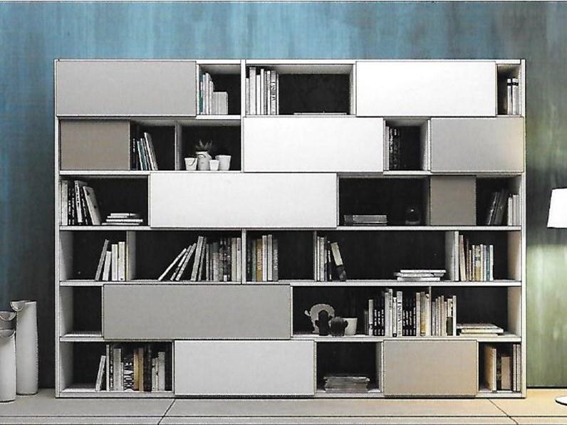 Pareti attrezzate 2 moderne scontata del 24 - Soggiorni pareti attrezzate moderne ...