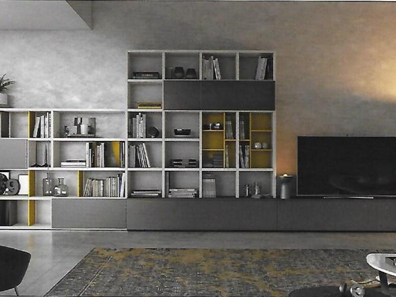 Pareti attrezzate moderne scontata del 15 - Soggiorni pareti attrezzate moderne ...