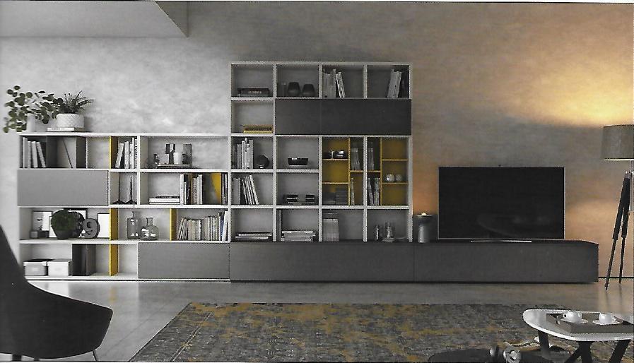 Pareti attrezzate moderne scontata del 15 soggiorni a prezzi scontati - Soggiorni pareti attrezzate moderne ...
