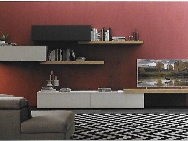 Pareti attrezzate moderne scontata del 19 for Soggiorni pareti attrezzate moderne