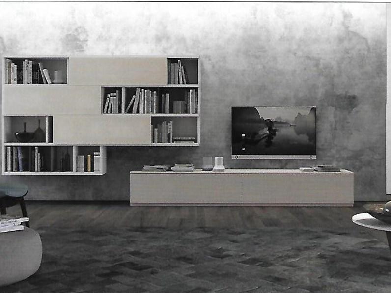 Pareti attrezzate moderne scontata del 20 - Soggiorni pareti attrezzate moderne ...