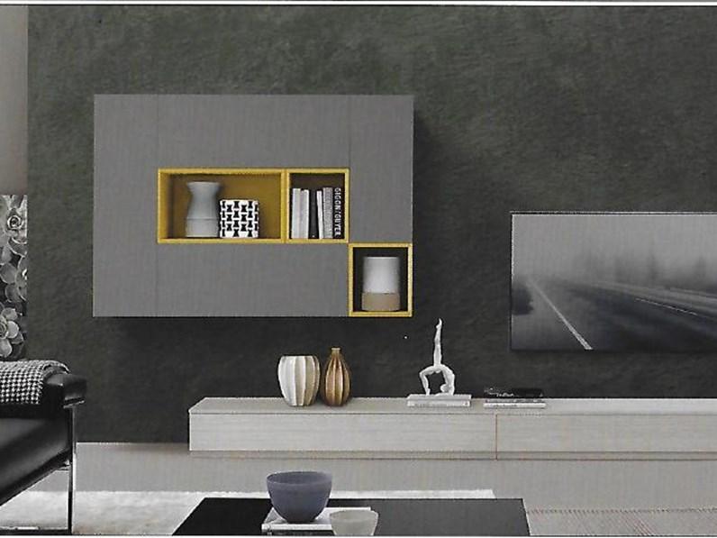 Pareti attrezzate moderne scontata del 23 for Soggiorni pareti attrezzate moderne