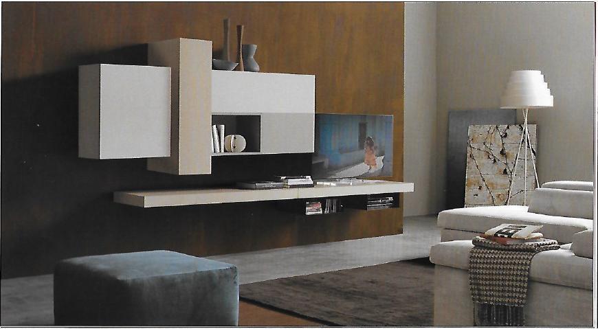 Pareti attrezzate moderne scontata del 24 soggiorni a for Soggiorni pareti attrezzate moderne