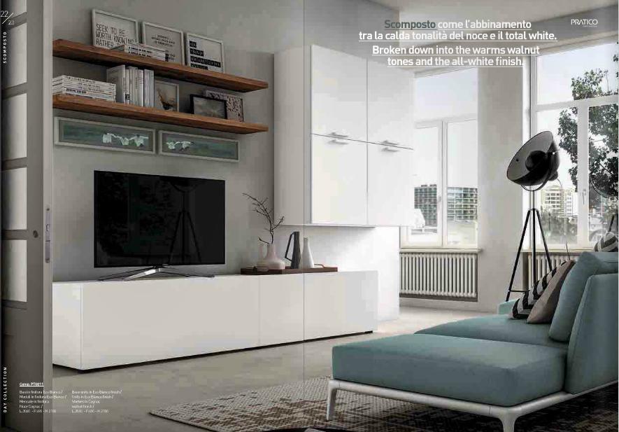 Soggiorni Pareti Attrezzate Moderne ~ Idee Creative e Innovative ...