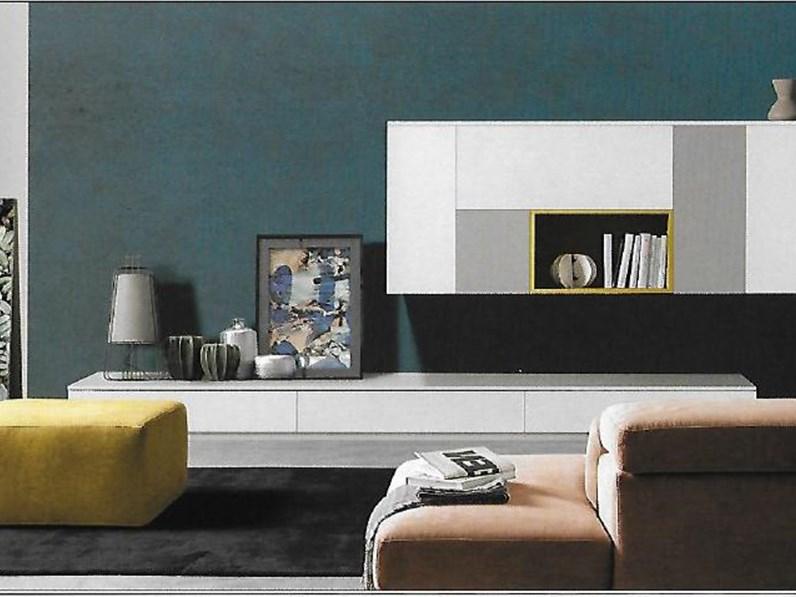 Pareti attrezzate moderne scontata del 27 for Soggiorni pareti attrezzate moderne