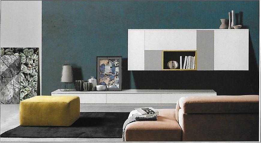 Pareti attrezzate moderne scontata del 27 soggiorni a prezzi scontati - Soggiorni pareti attrezzate moderne ...