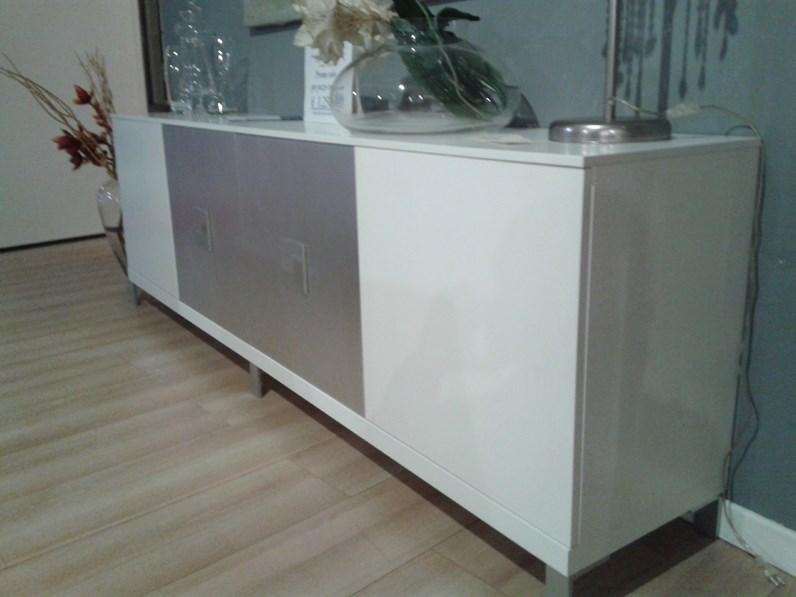 Credenza Moderna Laccata : Credenza madia laser in legno laccata bianca design moderno