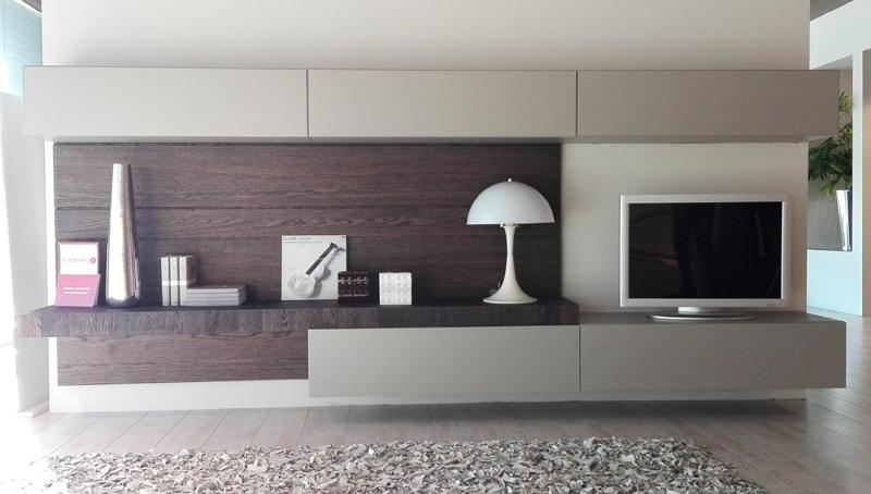 Parete attrezzata soggiorno moderno face moore modulnova - Mobile soggiorno moderno offerte ...