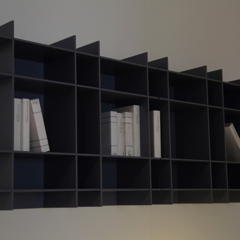 Poliform coppia libreria Sketch