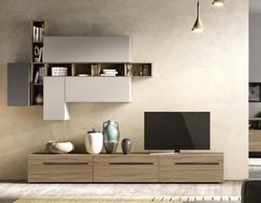 Porta tv Artigianale in laccato opaco Mottes mobili abaco 04 a prezzo scontato