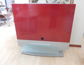 Porta tv Artigianale in laminato lucido Rosso in Offerta Outlet