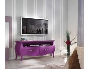 Porta tv Artigianale in legno a prezzo Outlet