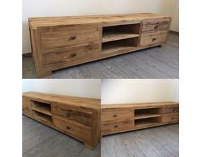 Porta tv Artigianale in legno a prezzo scontato
