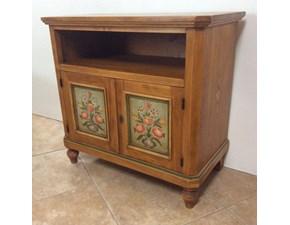 Porta tv Artigianale in legno Porta ti in Offerta Outlet