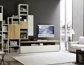 Porta tv Artigianale Mottes mobili composizione logico 19 SCONTO 50%