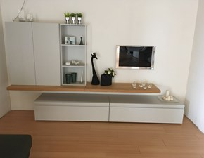 Porta tv Collection day Homes in laccato opaco a prezzo Outlet