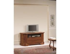 Porta tv Credenza.porta-tv in radica scontata del 35% Artigianale con un ribasso del 35%