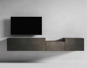 Porta tv I-modulart 6 Presotto italia in stile design a prezzo ribassato