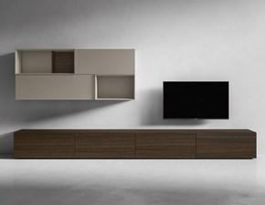 Porta tv I-modulart 6 Presotto italia in stile design a prezzo scontato