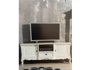 Porta tv in laccato opaco stile classico Porta tv Artigianale
