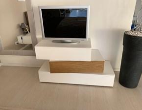 Porta tv in laccato opaco stile moderno Quadra Mobilgam