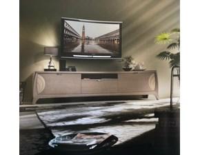 Porta tv in legno con 3 cassetti a prezzo scontato