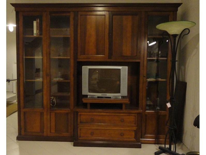 Porta tv in legno stile classico Soggiorno Artigianale