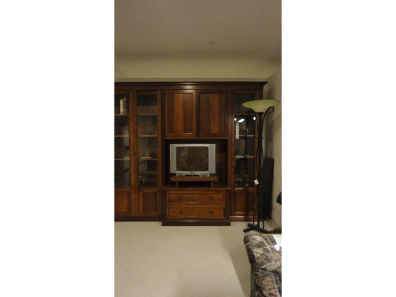 Porta tv in legno stile classico soggiorno artigianale - Porta tv classico ...